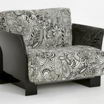 Pop sofa modulaire structure noire 1 plaza