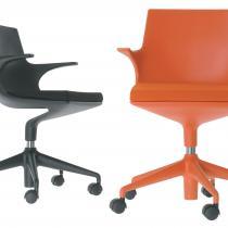 Spoon Chair chaise de bureau avec roues