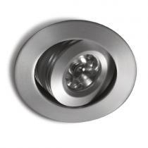 Ledio Downlight adjustable for powerled Aluminium