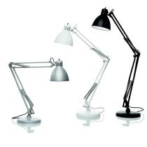 JJ M New P-T Wall lamp/Table Lamp Black opaque