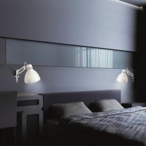 JJ P Wall Lamp white Shiny E27