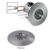 Nitum Round 1w LED frio Empotrable Spotlight 10º Cromo