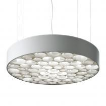 Spiro Lámpara Colgante Grande regulable Exterior blanco