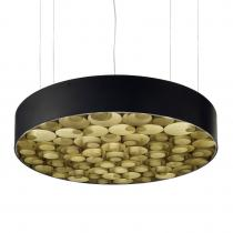 Spiro Lámpara Colgante Grande regulable Exterior negro