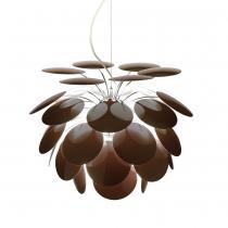 Discocó 35 Pendant Lamp ø35cm chocolate