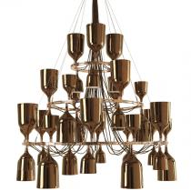 Copacabana Queen 12.6.3 Pendant Lamp E27 42x18w porcelain