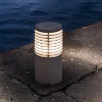 Oliver Gr Baliza Exterior E27 54xø25cm Piedra técnica