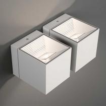 Dau LED Wall Lamp Doble 4 LED 4W Aluminium Anodized