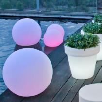 Buly 20 Bola iluminada Exterior solar LED RGB 20x17cm