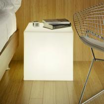 Cuby 45 Cubo iluminado Exterior batería recargable LED