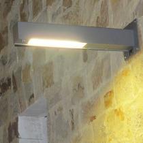 Zenete luz de parede L 2x2G11 1x80w - Cinza mate