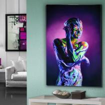 Body Paint Fotografía 80X120