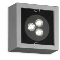 Esferic LEDS Wall Lamp 3x1W Chrome