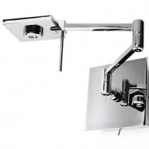 Del Wall Lamp Chrome