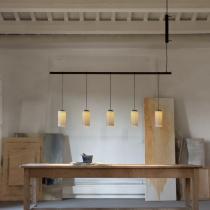 Cirio (Solo Structure) Lampe Suspension linéaire 5 feux -