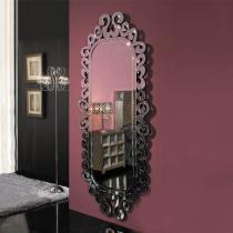Sorrento espejo Madera Negro