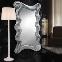 Gaudi espejo ondas Plata