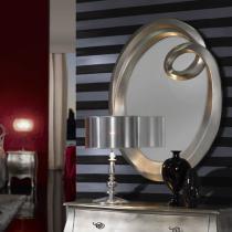Ronda miroir Petit Feuille d´argent