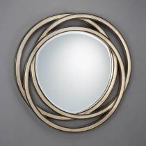 Aros mirror Round ø102 Silver bread