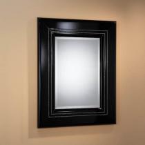 Luxury espejo rectangular Pequeño negro