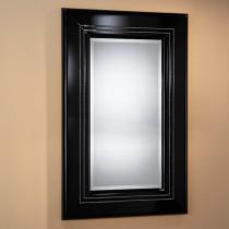 Luxury espejo rectangular Mediano negro