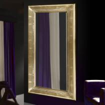 Luxury espejo rectangular Grande Pan de Oro