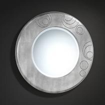 Luxury espejo Redondo Pan de Plata