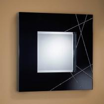 Luxury espejo Cuadrado negro