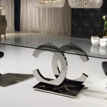 Calima table de salle à manger rectangulaire 200cm