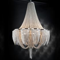 Minerva Pendant Lamp 15L G9 42W níquel