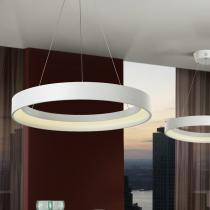 Cronos Lámpara Colgante ø60 LED 38W Blanco mate