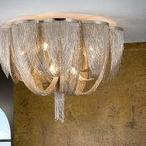 Minerva ceiling lamp 10L G9 42W níquel