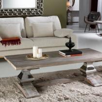 Antica table centro 50,5x160cm - Bois olmo avec patina