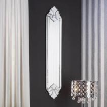 Atenas miroir vénitien 24x117cm Noir