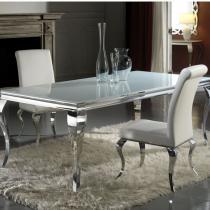 Barroque table de salle à manger 160cm
