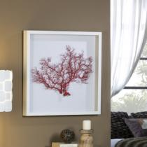 Coral cuadro Rojo 60