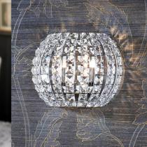 Diamond Aplique 2 G9 LED 4W Cromo/Copens Cristal