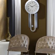 Esfera Reloj de Pared 103x40cm - Humo y Transparente