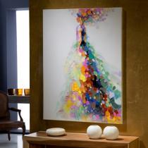 Gala Cuadro 90x120cm Pintura acrílica