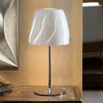 Helike Sobremesa LED E27 60W Blanco brillo