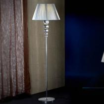 Mercury Floor Lamp 165x46cm 1xE27 LED 10W - Chrome