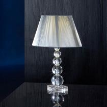 Mercury Table Lamp Large 1xE27 LED 10W 39x25cm - Chrome