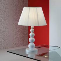 Mercury Lampe de table Grand 1xE27 LED 10W 39x25cm - blanc