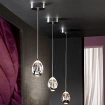 Rocio Lampe Suspension LED 5W - Chrome