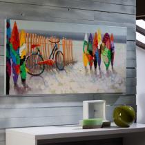 Summer Cuadro 140x70cm Pintura acrílica