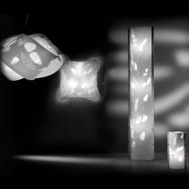 Bios L Parede/Teto branco lámpara de Lâmpada de assoalho