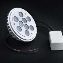 SERIE MG LED Lampe typ AR o QR, körper Aluminium, óptica
