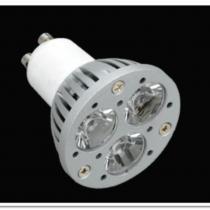Lámpara LED GU10 dichroic Serie MG Aluminium óptica