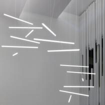 Halo Lámpara Colgante Lineal 9 Colgantes 9xLED 24V 15,8W -