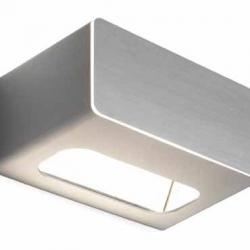 Note Wall Lamp 250W Aluminium Silver